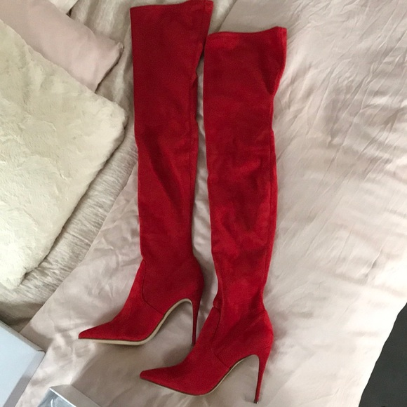 54b590e777b Steve Madden Dominique thigh high boots never worn